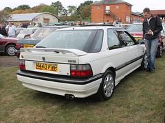 1994 Rover 220 GSi (quicksilver coaches) Tags: rover r8 200 220 m440fwr blautumnrally miltonkeynes