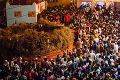Holika Dahan Bonfire Crowd, Holi in Phalain Uttar Pradesh (AdamCohn) Tags: adamcohn falein falen fallen hindu holikadahan india koshikalan kosikalan mathura vrindavan bonfire fire holi pilgrims pyre wwwadamcohncom phalain prahladmandir prehladmandir