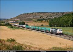 Un alto en el camino (Trenes2000) Tags: trenes tren renfe 333 333341 mercancias prima mercante mixto tolvas cisternas butano ceniza siguenza españa trenes2000 diesel locomotora
