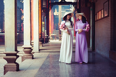 Beautiful vietnamese woman in Ao Dai white-traditional dress of vietnam (Patrick Foto ;)) Tags: aodai hochiminh adult asia asian attractive back background beautiful beauty charming china chinese city closeup costume culture cute decoration dress face fashion female girl hair happy lady lifestyle lovely model oriental people person portrait pose pretty rear standing street temple tourism traditional travel two urban vietnam vietnamese vintage white woman young hochiminhcity hồchíminh vn