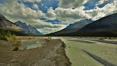 Driving into Banff (Rudi Verspoor) Tags: sky blue clouds landscape water wide nature sigma nikon d7200 1020mm scenic canada alberta rockies mountains mountainscape