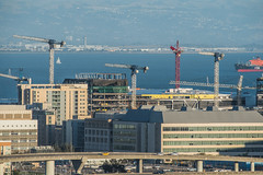 chase arena rises out of mission bay (pbo31) Tags: sanfrancisco california nikon d810 color city urban october 2018 boury pbo31 fall skyline civiccenter over view construction missionbay chase arena warriors basketball nba cranes