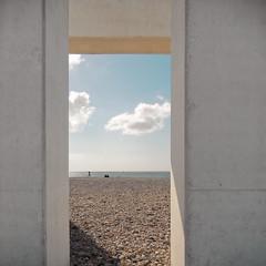 PORTE OCEANE (didi tokaoui) Tags: didi tokaoui photo porte oceane le havre sky ciel sea plage cloud nuage architecture