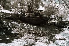 Eka (A.Arvidsson) Tags: båt eka ir skiff infrared