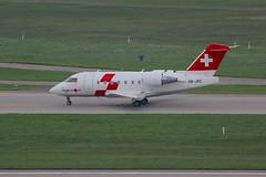 CL-604 HB-JRC Zurich 06.10.18 (jonf45 - 4 million views -Thank you) Tags: zurich airport flughafenn switzerland airliner civil aircraft jet plane flight aviation zrh lszh swiss air ambulance canadair cl 604 hbjrc