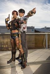 _MG_0585 (Mauro Petrolati) Tags: romics 2018 cosplay cosplayer revy rock black lagoon crossover fallout iris