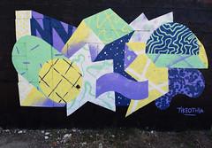 TikeoThia (HBA_JIJO) Tags: streetart urban graffiti art france hbajijo wall mur painting abstrait peinture paris93 urbain abstract form geometric