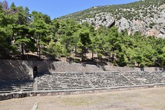 fullsizeoutput_8ca7 (lnewman333) Tags: delphi greece europe stadium ancient ruins historic stadiumofdelphi pythiangames games scenery mountparnassus landscape mountain finishline ancientgreece delphoi