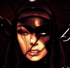 Accept my Dark side (ÐΔЯҚǤIЯĿ) Tags: halloween dark macabre paranormal nun devil