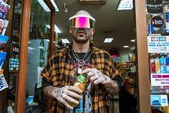 $NK (Nico Selis) Tags: portrait boy guy smoke black white dark day night tattoo chain fuze tea goggles hair hat rome architecture bangla blonde style more pain