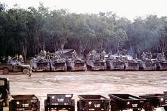 "M113 tracks 5/60th Infantry ""Bandido Charlie"" , 9th Infantry Division ""Old Reliables"" (Jerzy Krzemiński) Tags: m113 apc infantry mechanized vietnam"