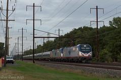 Amtrak 173 @ Levittown, PA (Dan A. Davis) Tags: amtrak northeastcorridor northeastregional acs64 passengertrain train locomotive levittown pa pennsylvania nec