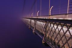 Foggin Heck! (andrewmclean32) Tags: bristol bridge suspensionbridge sunrise fog foggy uk clifton mist misty am morning lights longexposure