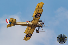 Royal Aircraft Factory BE2c (griffonphoto) Tags: 2018 aircraft airplane airshow aviation be2c biplane england farnborough greatbritain outdoor outdoors outside plane royalaircraftfactory sky summer uk unitedkingdom