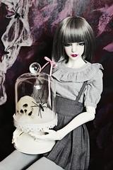 happy halloween ... 👻 (zinery) Tags: abjd bjd asian ball jointed doll april story aprilstory 4sdolls modded juliet senior girl body white skin ws sd size