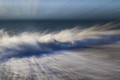 Crashing Wave (shawn~white) Tags: aberystwyth ceredigion fujifilmxt10 icm place uk westwales awe beach bold bright crash crashing dramatic energy exuberance maritime mood neutraldensity ocean sea seaside shore sunny water wave weather zoom ©shawnwhite