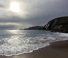 Lace Waves (Roaring Jellyfish) Tags: ireland kerry dingle dingleway cuomeenoole beach lace waves dunmorehead atlantic wildatlanticway