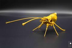 Royal Bug (Cole Blaq) Tags: blaq brickart cole coleblaq lego insect nanobot pearlgold robot
