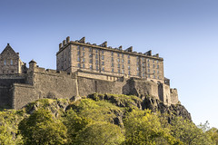 Edinburgh Castle in the Sun (separatesunsets) Tags: edinburgh old oldtown sandstone scotland tourism uk culture travel