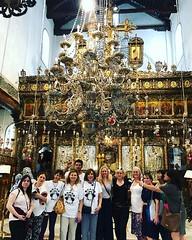 Day 8 The Love of a Master Tour Jerusalem visiting Bethlehem Church of Nativity.Happy 84th Birthday John-Roger. @bulghourji. Celebrating John-Roger's 84th Birthday (Tour El Amor de un Maestro, en Israel) @spiritlty @msiaorg @msia_colombia @msiaflorida @ni (jrintegrity924) Tags: johnroger msia jsu garcia integrity spiritual teacher israel jerusalem love light spirit god jesus