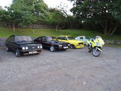 Cornwall Blood Bikes Cheque Presentation (Duchy Capri Club) Tags: cornwall blood bikes duchy capti classic ford club cheque handover charity fund raiser tricy dickys redruth
