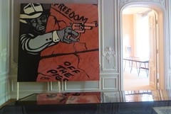 Art & Black Power (JoséDay) Tags: hedendaagsekunst kunst art contemporaryart powertothepeople exhibition tentoonstelling langevoorhout34 thehague thenetherlands denhaag panasonicdmctz10 panasonictz10 panasonic dmctz10 symposium 1312 acab huishuguetan househuguetan built1734 citypalace kingwilliam1st