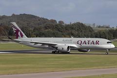 Airbus A350-941 A7-ALF Qatar Airways (Mark McEwan) Tags: airbus a350 a350941 a7alf qatar qatarairways edi edinburghairport edinburgh aviation aircraft airplane airliner