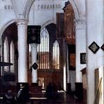 IMG_6671 Emmanuel de Witte. 1617-1692. Amsterdam  Interior of church.Intérieur d'église Dresden. Gemäldegalerie Alte Meister. thumbnail
