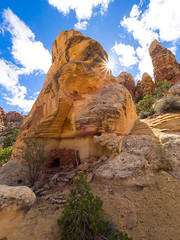 Pocket Ruin (xjblue) Tags: 2018 southernutah utah desert fall trip sunburst ruin granary anasazi ancientruins olympus omdem1 mzuiko714mmf28