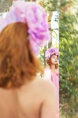 Peony Girl (Eugine Li) Tags: peony girl woman flower color outdoor