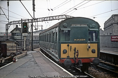 1966 - DC Electric at Oxford Road.. (Robert Gadsdon) Tags: 1966 1500vdc emu m29250m electric withdrawn scrapped manchesteroxfordroadstation