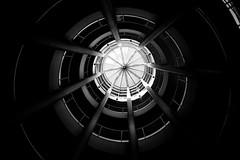 A piece of sky (kuestenkind) Tags: treppenhaus staircase blackwhite schwarzweis blackandwhite