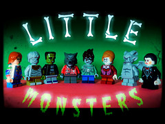 Our Gang (LegoKlyph) Tags: lego custom brick block build mini figure monsters little horror creatures halloween cute killers fright october our gang