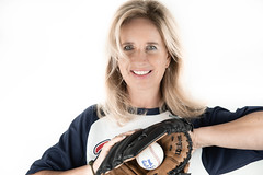 Red Sox (smeerjewegproducties) Tags: baseball women glove wilson red sox boston blonde fan