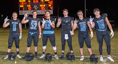 "'18-368 (mark.calvin33) Tags: football field sport ball ""high school"" ""ponte vedra high pvhs block tackle rush run pass catch receiver blocker ""running back"" quarterback fumble completion reception hike pitch snap ""friday night lights"" fans stands kick ""end zone"" ""nikon d7100"" 2018 win athletics athletes ""night photography"" ""sharks football"""