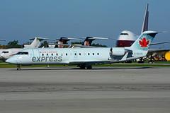 C-GUJA (Air Canada express - JAZZ) (Steelhead 2010) Tags: aircanada aircanadaexpress jazz canadair crj crj200 yhm creg cguja