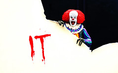 It (RK*Pictures) Tags: death blood murder horror actionfigure toy diorama horrormovie cult classic traumaticexperience neca ultimate hallucinations evil dream nightmare clown it pennywise children timcurry actionfigurephotography toyphotography rkpictures tommyleewallace stephenking supernatural thelosersclub malevolent entity pennywisethedancingclown every27years novel preyupon sewersystem shapeshifter terror devour creepy derry papersailboat drain imagination vow adults childmurders spider rain float colourfulclothing wig red white makeup clownnose costume whiteface sinister sidewalk dark monster terrifying balloon miniseries