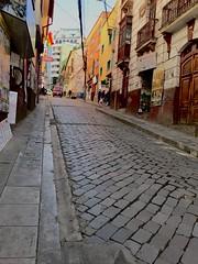 La Paz, Bolivia (jabbusch) Tags: scenes street lapaz bolivia cobblestones hills