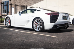 Bright (Hunter J. G. Frim Photography) Tags: supercar colorado denver lexus lfa v10 white japanese coupe carbon rare limited wing lexuslfa