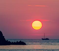 Sunset Sailing ( Limnos - Greece) (Cross Process Effect) (Olympus OM-D EM1-II & M.Zuiko 40-150mm f2.8 with MC14 Teleconverter) (1 of 1) (markdbaynham) Tags: greece greek hellas hellenic greekisland grecia greka myrina myrinatown gr sunset settingsun sun colour sea ship boat sailing view landscape greekholiday olympus olympusomd omd olympusgreece olympusem1 olympusprolens mft m43 mirrorless evil csc microfourthird microfourthirds m43rd 40150mm f28 zoom telephoto micro43 micro43rd em1 em1mk2 em1ii mzd mz zd zuikolic mzuiko crossprocess mc14 teleconverter northaegean aegean aegeanisland northaegeanisland travel europe greeceaegean olympusmft em1mark2