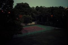 La jour commençait à tomber... j'avais Blow-Up dans la tête... (woltarise) Tags: lyon ecully tennis terrain france ricohgr blowup antonioni