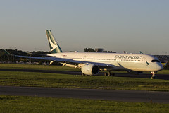 B-LRV | Cathay Pacific | Airbus A350-941 | CN 154 | Built 2017 | DUB/EIDW 09/08/2018 (Mick Planespotter) Tags: aircraft airport 2018 dublinairport collinstown nik sharpenerpro3 blrv cathay pacific airbus a350941 154 2017 dub eidw 09082018 a350