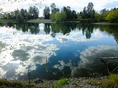 Autumn Sky Reflection