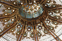 Galeries Lafayette (House Of Secrets Incorporated) Tags: paris france travel travelphotography vacances holiday voyages store shop galerieslafayette architecture stainedglass dome skylight blog blogger blogging kittensandsteamlivejournalcom kittensandsteamblogspotcom instagramkittensandsteam twitterhildebcm belgianblogger