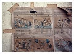 Das waren noch Zeiten (https://www.norbert-kaiser-foto.de/) Tags: sachsen saxony sächsischeschweiz saxonswitzerland elbsandsteingebirge elbesandstonemountains fabrik lostplaces verfall decay abandoned leerstand likolit kohlmühle urbanexploring comic willymoese