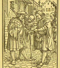 This image is taken from Page 19 of Holbein's Dance of death : exhibited in elegant engravings on wood ; also, Holbein's Bible cuts : consisting of ninety illustrations on wood (Medical Heritage Library, Inc.) Tags: dance death rcplondon ukmhl medicalheritagelibrary europeanlibraries date1858 idb22650660