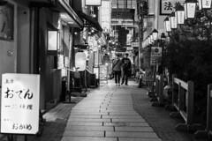 alley (Hideki-I) Tags: alley osaka japan nikon d850 2470 blackandwhite bw 白黒 street