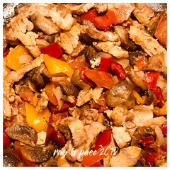 IMG_3012_Pork & Veg mix (pacemedia.TV) Tags: pork vegetables dinner oliveoil lovefood foodie foodphotography phonephotography cuisine healthyfood foodlife