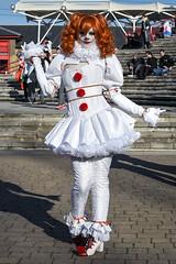 MCM London Film & Comic Con, Oct 2018 (Sean Sweeney, UK) Tags: mcm london film comiccon comic con lfcc excel 2018 nikon d750 dslr uk united kingdom mcmldn18 cosplay costume it pennywise clown