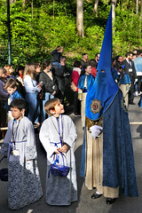 Spain: Granada, Semana Santa procession (Henk Binnendijk) Tags: granada semanasanta procession parade processie puntmutsen alhambra spain españa spanje andalucia andalucía andalusia religious easterparade easter
